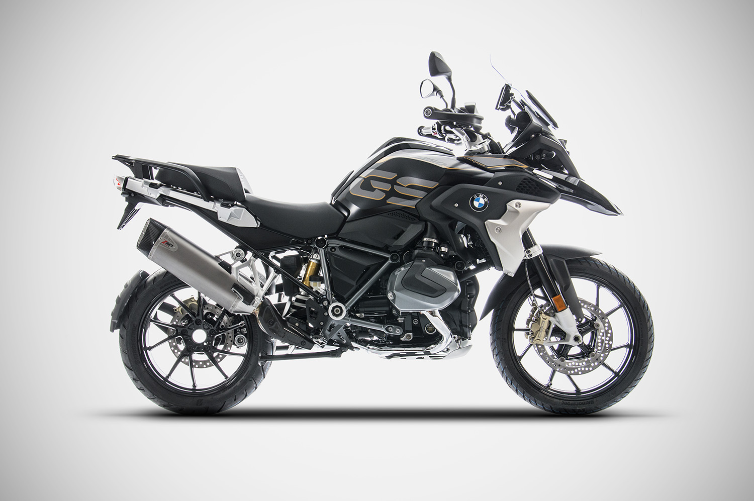 BMW R 1250 GS Zard Slip on
