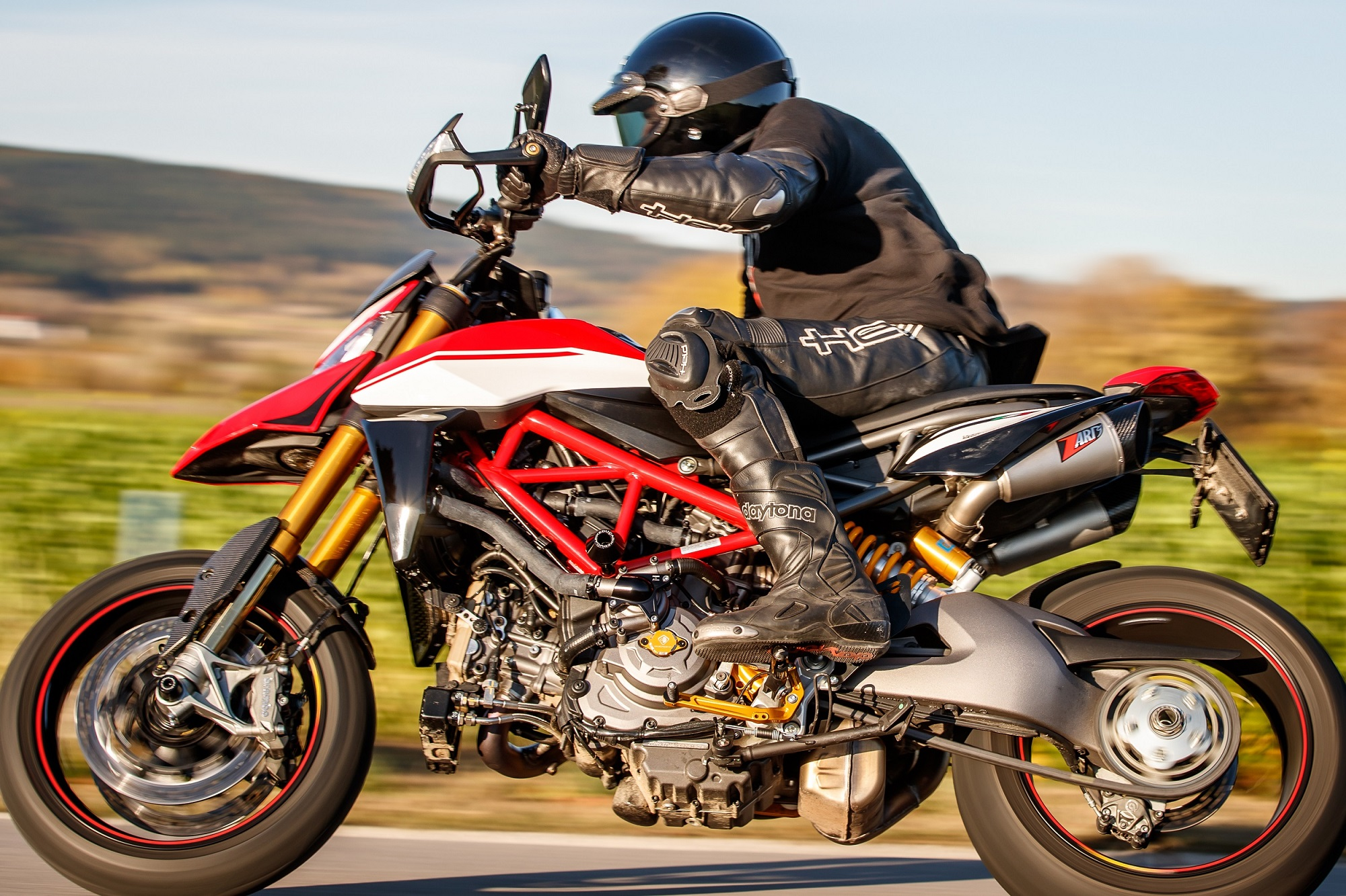Ducati Hypermotard 950 / SP Zard Slip on 2-2 GT Version