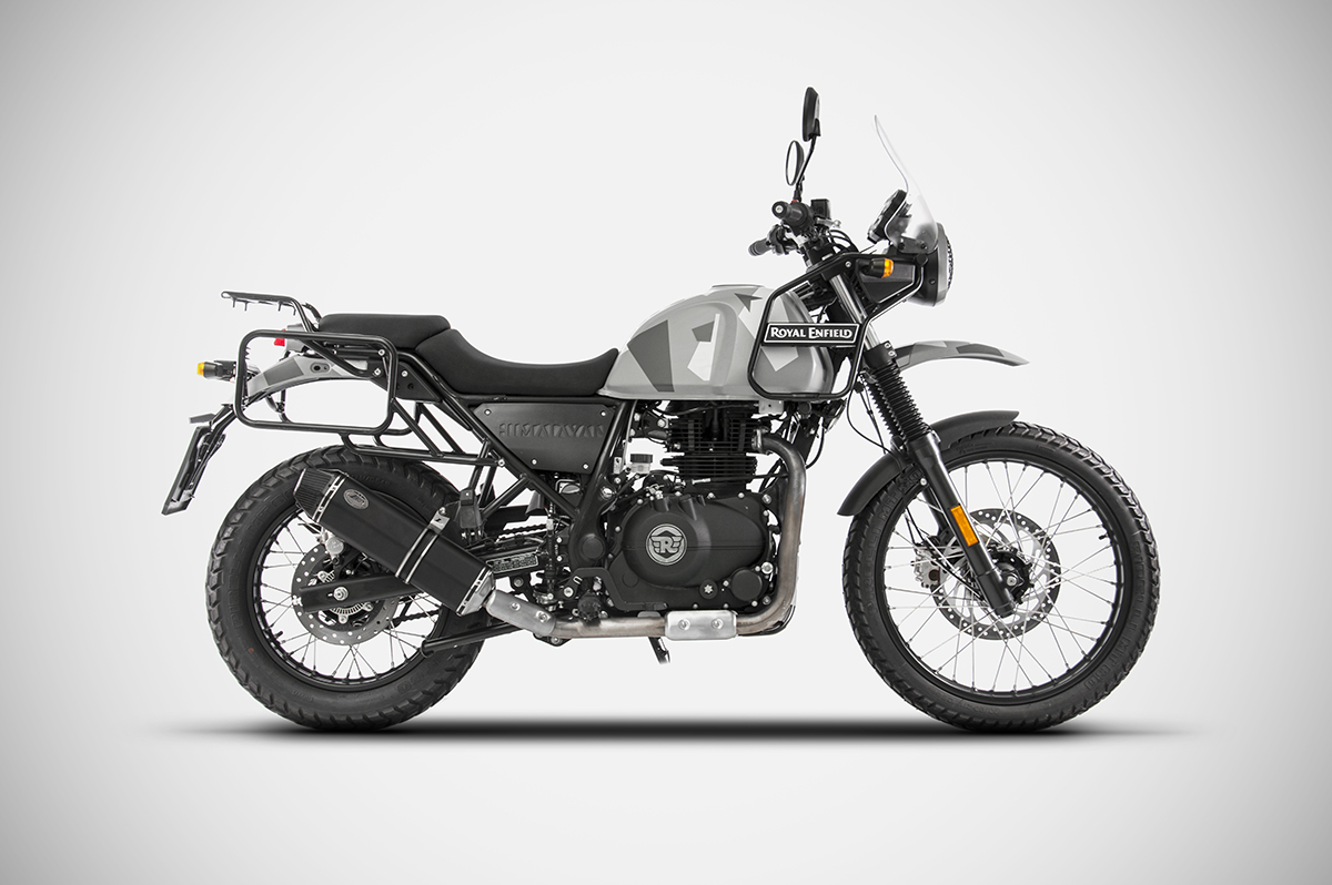 Royal Enfield Himalayan Zard Slip on